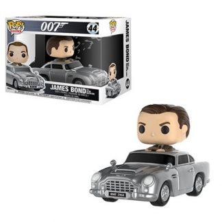 Otto's Granary James Bond with Aston Martin #44 POP! Bobblehead