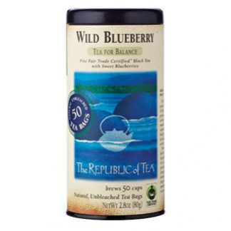 Otto's Granary Wild Blueberry Black Tea Bags by The Republic of Tea