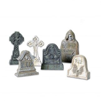 Otto's Granary Village Tombstones Set of 6 - Village Accessories