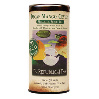 Otto's Granary Decaf Mango Ceylon Black Tea by The Republic of Tea