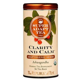 Otto's Granary Organic SuperAdapt Clarity and Calm Herbal Tea by The Republic of Tea