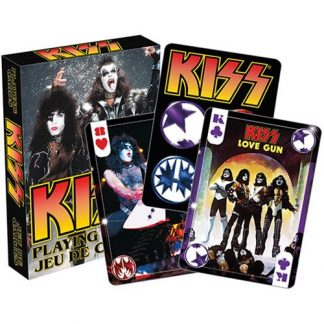 KISS Photo Playing Cards - AQ52356