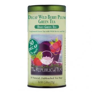 Otto's Granary Daily Green Decaf Wild Berry Plum Green Tea by The Republic of Tea