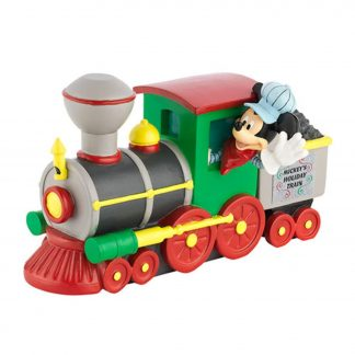 "Otto's Granary Mickey's Merry Christmas Village ""Mickey's Holiday Train"" Engine Accessory"