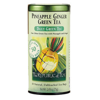 Otto's Granary Daily Green Pineapple Ginger Green Tea by The Republic of Tea