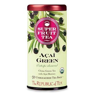 Otto's Granary Organic Açaí Green Superfruit Tea by The Republic of Tea