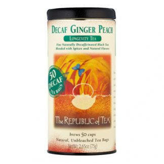 Otto's Granary Decaf Ginger Peach Black Tea by The Republic of Tea