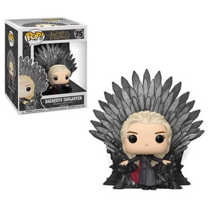 Otto's Granary Game of Thrones Daenerys Sitting on Throne Deluxe #75 POP! Bobblehead