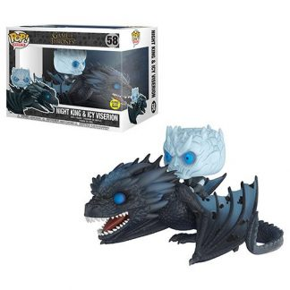 Otto's Granary Game of Thrones Viserion Pop! Vinyl Ride with Night King Figure #58 POP! Bobblehead