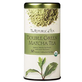 Otto's Granary Organic 100% Double Green® Matcha Tea Bags by The Republic of Tea