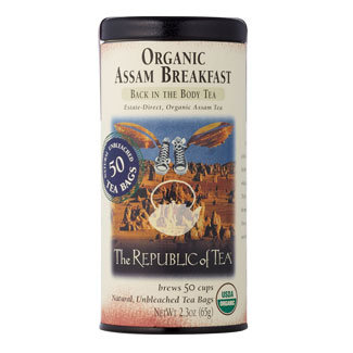 Otto's Granary Organic Assam Breakfast Black Tea Bags by The Republic of Tea