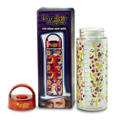 Otto's Granary Willy Wonka Fruit Infuser 16 oz. Water Bottle