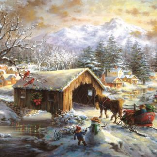Otto's Granary Over the Covered Bridge - 1000+pc. by SunsOut Jigsaw Puzzles