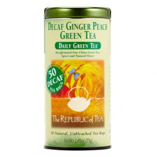 Otto's Granary Daily Green Decaf Ginger Peach Green Tea by The Republic of Tea