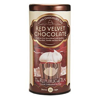 Otto's Granary Red Velvet Cuppa Chocolate Tea by The Republic of Tea
