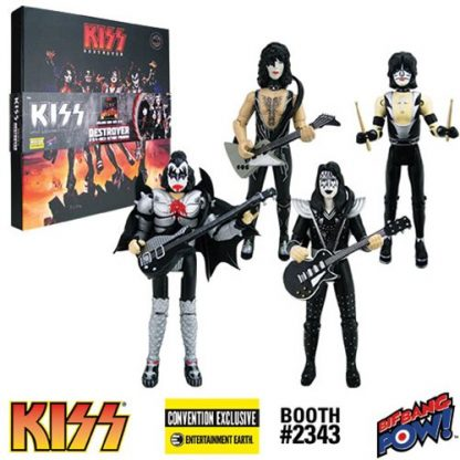 Otto's Granary KISS Destroyer 3 3/4-Inch Action Figure Deluxe Box Set - Convention Exclusive