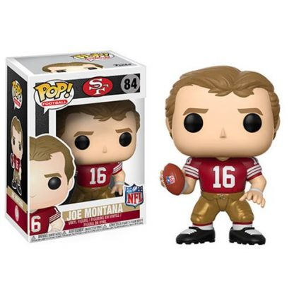 Otto's Granary NFL Legends Joe Montana 49ers Home #84 POP! Bobblehead