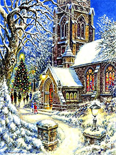Otto's Granary Church in the Snow - 1000+pc. by SunsOut Jigsaw Puzzles