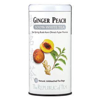 Otto's Granary Ginger Peach White Tea by The Republic of Tea