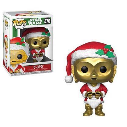 Otto's Granary Star Wars Holiday C-3PO as Santa #276 POP! Bobblehead