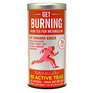 Otto's Granary Get Burning Green Rooibos Tea by The Republic of Tea