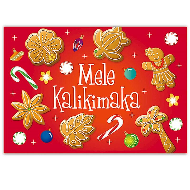 Mele Kalikimaka Christmas Cards.Mele Cookie Maka Boxed Christmas Cards 62876000