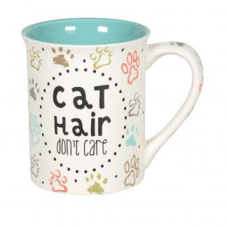 Otto's Granary Cat Hair Don't Care Mug by Our Name Is Mud