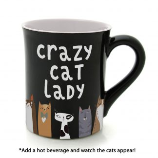 Otto's Granary Crazy Cat Heat Activated Mug by Our Name Is Mud