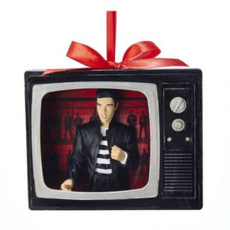 Otto's Granary Elvis Presley Jailhouse Rock TV Ornament