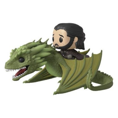 Otto's Granary Game of Thrones Rhaegal POP! Vinyl Rides with Jon Snow