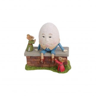 Otto's Granary Humpty Dumpty Mice Figurine by Tails with Heart Mother Goose Collection