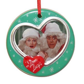 Otto's Granary I Love Lucy Christmas Special Disc Ornament