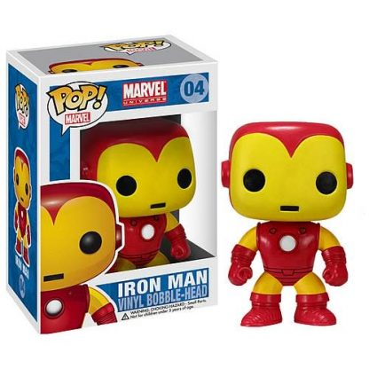Otto's Granary Iron Man Marvel #04 Pop! Vinyl Bobble Head