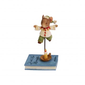 Otto's Granary Jack Be Nimble Mouse Figurine by Tails with Heart Mother Goose Collection