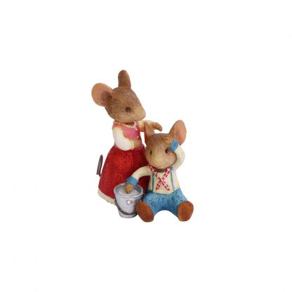 Otto's Granary Jack & Jill Mice Figurine by Tails with Heart Mother Goose Collection for Sale