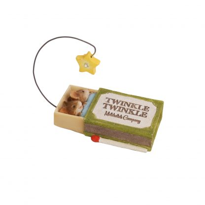 Otto's Granary Twinkle Twinkle Mice Figurine by Tails with Heart Mother Goose Collection