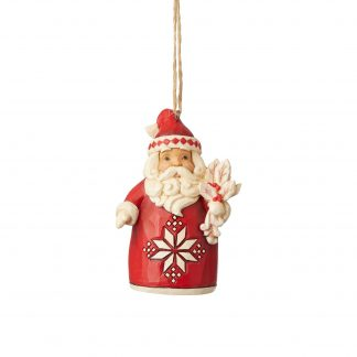 Otto's Granary Nordic Noel Santa Ornament by Jim Shore Heartwood Creek