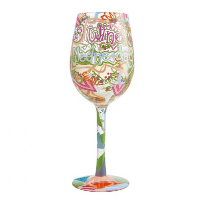 Otto's Granary Wine Wednesday Wine Glass by Lolita