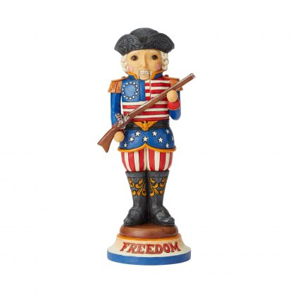 """Otto's Granary Nutcracker """"Freedom First And Foremost"""" by Jim Shore"""