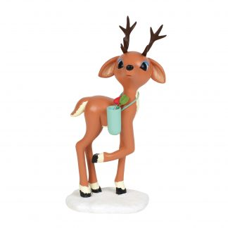 Otto's Granary Cupid Reindeer Figurine by Dept 56