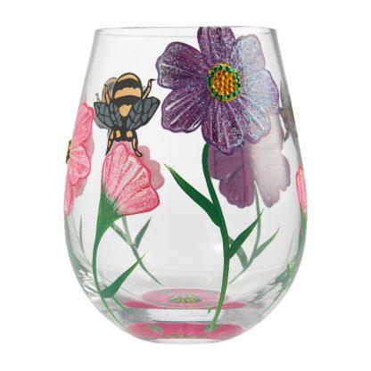 Otto's Granary My Drinking Garden 20oz. Stemless Wine Glass by Lolita