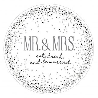 Otto's Granary Mr. & Mrs. Large Platter by Our Name Is Mud