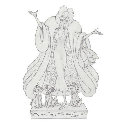 Otto's Granary Cruella DeVil Figurine by Jim Shore