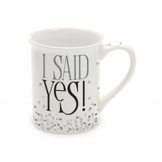 Otto's Granary I Said Yes Glitter Mug by Our Name Is Mud