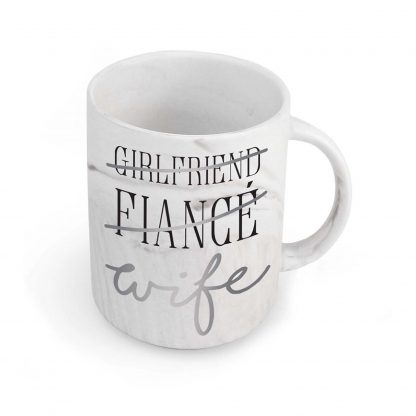 Otto's Granary Wife Marble Mug by Our Name Is Mud