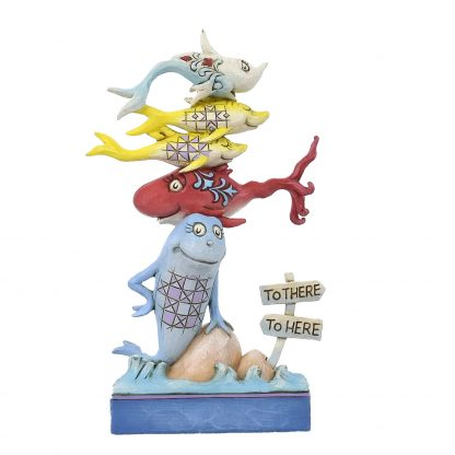 Otto's Granary Dr. Seuss One Fish, Two Fish…Figurine by Jim Shore