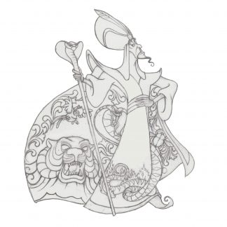 Otto's Granary Jafar from Aladdin Figurine by Jim Shore