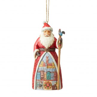 Otto's Granary Portuguese Santa Ornament by Jim Shore