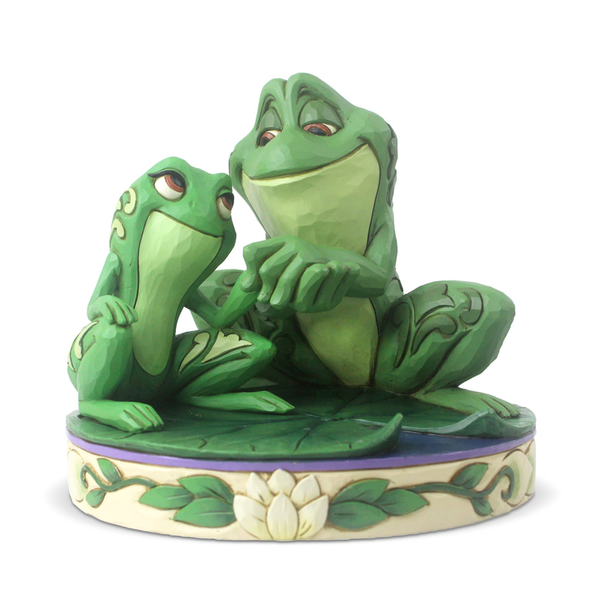 Tiana And Naveen As Frogs Figurine By Jim Shore 6005960 At Otto S Granary