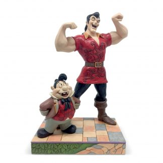 Otto's Granary Gaston and Lefou Figurine by Jim Shore